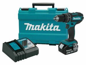 Makita XPH102 18V Lithium-Ion Cordless Hammer Drill Driver Kit
