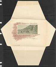 Argentina unused 5 centavo illustrated stationary envelope