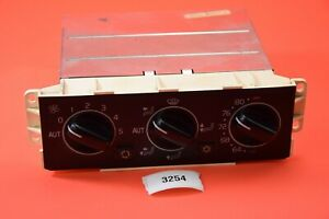 H#3 94-97 Volvo V90 S90 960 OEM Heater AC Climate Control Panel Unit 9164506