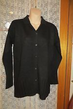 VINTAGE  ~ JUMP ~ Black  Long CARDIGAN ~ Size S/M ~ REDUCED ~