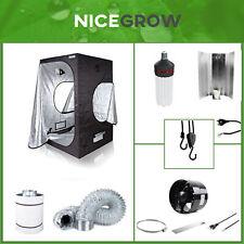 Growbox Komplettset ESL Growset Energiesparlampe 150W Blüte inkl. Abluft