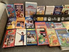 31 Children's VHS Tapes