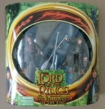 Lord of the Rings exclusive action figure box set Frodo and Samwise + Elven boat