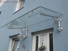 Massiver Vordach-Träger aus Edelstahl für stabiles Vordach, Edelstahlvordach NEU