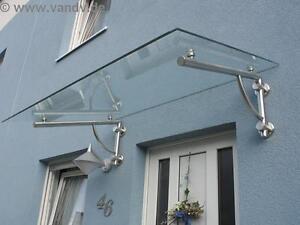 1x Vordach-TRÄGER aus Edelstahl für Vordach (ohne Glas), TOP Qualität