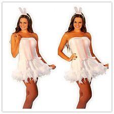 Valentines Gift Sexy Womens Lingerie Bunny Fancy Dress Costume Clubwear + ears