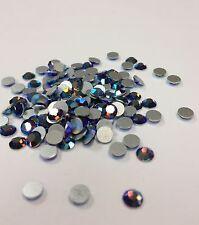 144 flat-back D S and Co. stunning flatback rhinestones AB amethyst purple color