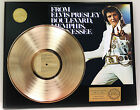 "ELVIS PRESLEY ""FROM ELVIS MEMPHIS"" GOLD LP LTD EDITION RARE RECORD DISPLAY"