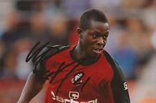 BOURNEMOUTH: MARVIN BARTLEY SIGNED 6x4 ACTION PHOTO+COA
