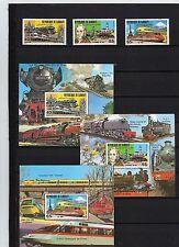 Eisenbahnmotive - Dschibuti ** - Nr. 300-02, Bl. 36-38  ( 31101 )