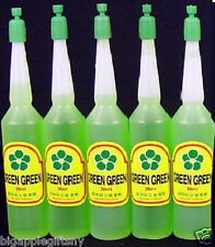 5 Bottles of Green Green Lucky Bamboo Plant Food Fertilizer (36ml/bottle)