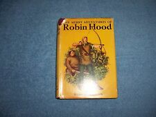THE MERRY ADVENTURES OF ROBIN HOOD by Howard Pyle/HCDJ/Childrens/Literature
