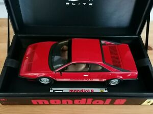 Ferrari mondial 8 Hot wheels Elite ver red 1980s classic rare version 1:18 model
