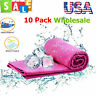 Wholesale Ice Cooling Towel For Sports Workout Fitness Gym Yoga Pilates 10 Pack
