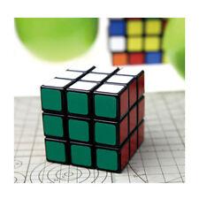 Set of 3x3x3 Speed Magic Cube Kids Twist puzzle game toy Black/White case