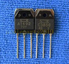 10pair or 20pcs 2SA1492-Y/2SC3856-Y 2SA1492/2SC3856 A1492/C3856 SANKEN TO-3P