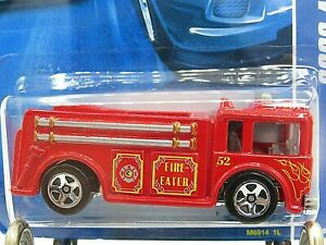 HOT WHEELS VHTF 2008 ALL STARS SERIES FIRE EATER