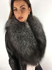 Silver Fox Fur Stole 55 Inches Saga Furs Boa Collar