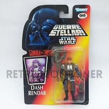 STAR WARS Kenner Hasbro Action Figure - POTF POTF2 - Dash Rendar ITALIAN GIG