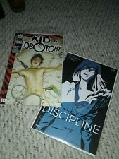 The Discipline Kid Lobotomy 1 try-out reader lot Peter Milligan NM