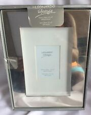 LEONARD LIFESTYLE SILVER MIRROR EFFECT PHOTO FRAME