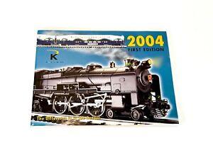 K Line Train Catalog  2004 First Edition
