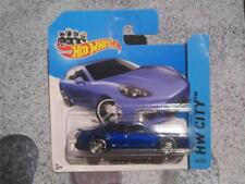 Hot Wheels 2014 #040/250 Porsche Panamera Bleu NEUF FONTE 2014 HW CITY