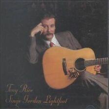 Sings Gordon Lightfoot 0011661037021 by Tony Rice CD