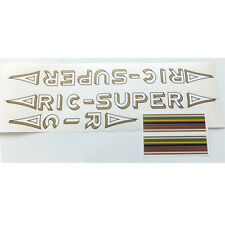 Ric Super decal set German vintage Rickert