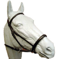 Dr. Cook Bitless English Leather Bridle - NEWMARKETFULL