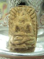 Thai Buddha Amulet Phra LP Puek Pim Kudsra Talisman Magic Old Buddhist Talisman