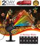 LED Proyector Luces de Navidad,Impermeable Luces de RGB Luz,Multicolor festivo