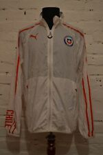 CHILE FOOTBALL WALKOUT JACKET 2014 SOCCER CAMISETA PUMA PLAYER ISSUE MENS M