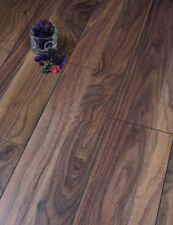 Sample of 12mm Kronoswiss Walnut dark brown laminate flooring V Groove AC4
