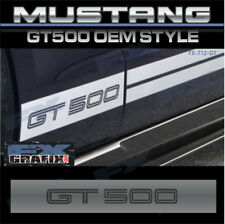 Factory Style Mustang  GT500 Rocker Stripes 100% Dealer Quality Ford 2005 - 2014