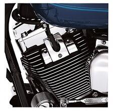 Harley twin cam touring softail dyna chrome headbolt bridge spark plug cover set