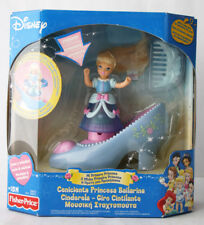 RARE 2003 FISHER PRICE MY FIRST PRINCESS MUSICAL CINDERELLA PLAYSET NEW SEALED !