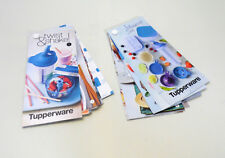 TUPPERWARE Rezeptkarten, 14 + 9 Rezeptideen für Turbo-Chef, Shaker + Mocktail