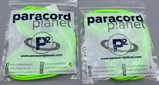 550 Paracord Type Iii 7 Strand Parachute Cord 10 Ft Survival Rope Lot Of 2
