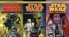 Star Wars BOUNTY HUNTER WARS TRILOGY by K W Jeter PAPERBACK Book Collection 1-3
