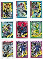 1990 Impel Fleer Marvel Universe Series 1 Lot of 23 Cards Spiderman Punisher RC
