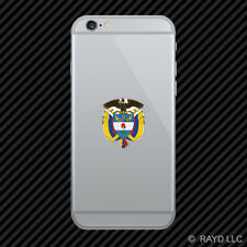 Colombian Coat of Arms Cell Phone Sticker Mobile Colombia flag COL CO