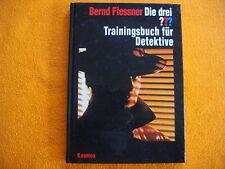 Die drei ??? Fragezeichen Trainingsbuch für Detektive,VQ=Erstausgabe(EA)