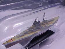 Eaglemoss 1/1100 Tirupitz Battleship Warships Japanese Diecast Mini WS31