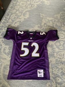 Ray lewis Mitchell & Ness Authentic Jersey. Size 44L