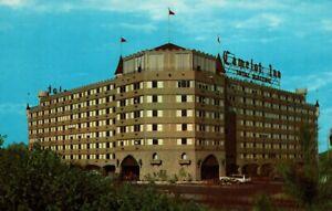 Tulsa Oklahoma Camelot Inn Motor Hotel Postcard