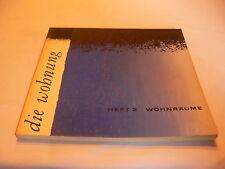 Wohnräume-Die Wohnung-Heft 2 - Deutscher Werkbund Bayern 1964