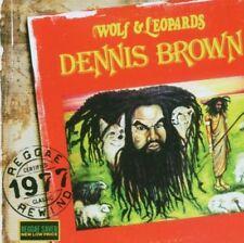 DENNIS BROWN-WOLF & LEOPARDS (+ BONUS) CD NEUF