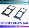 P smart+ Plus 2019 support rack tiroir slot double SIM micro SD card tray holder