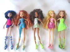 5 poupées Dolls WINX CLUB Mattel singsational Bloom Stella Flora Layla Musa